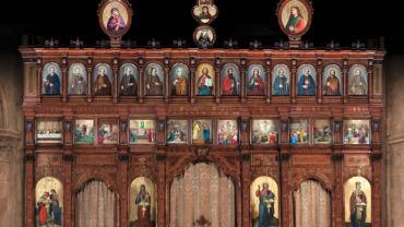 Iconostase de Saint Julien-le-Pauvre